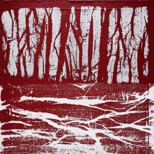 Red forest - 2007 - cm 80x80